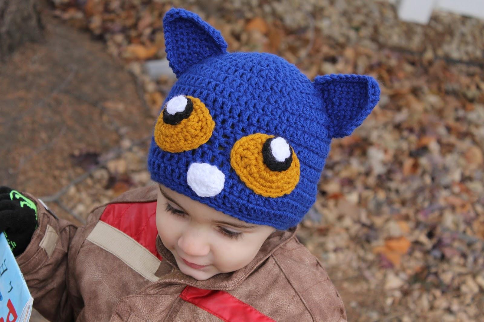 Mnopxs2 The Blog Pete The Cat Crochet Hat Pattern