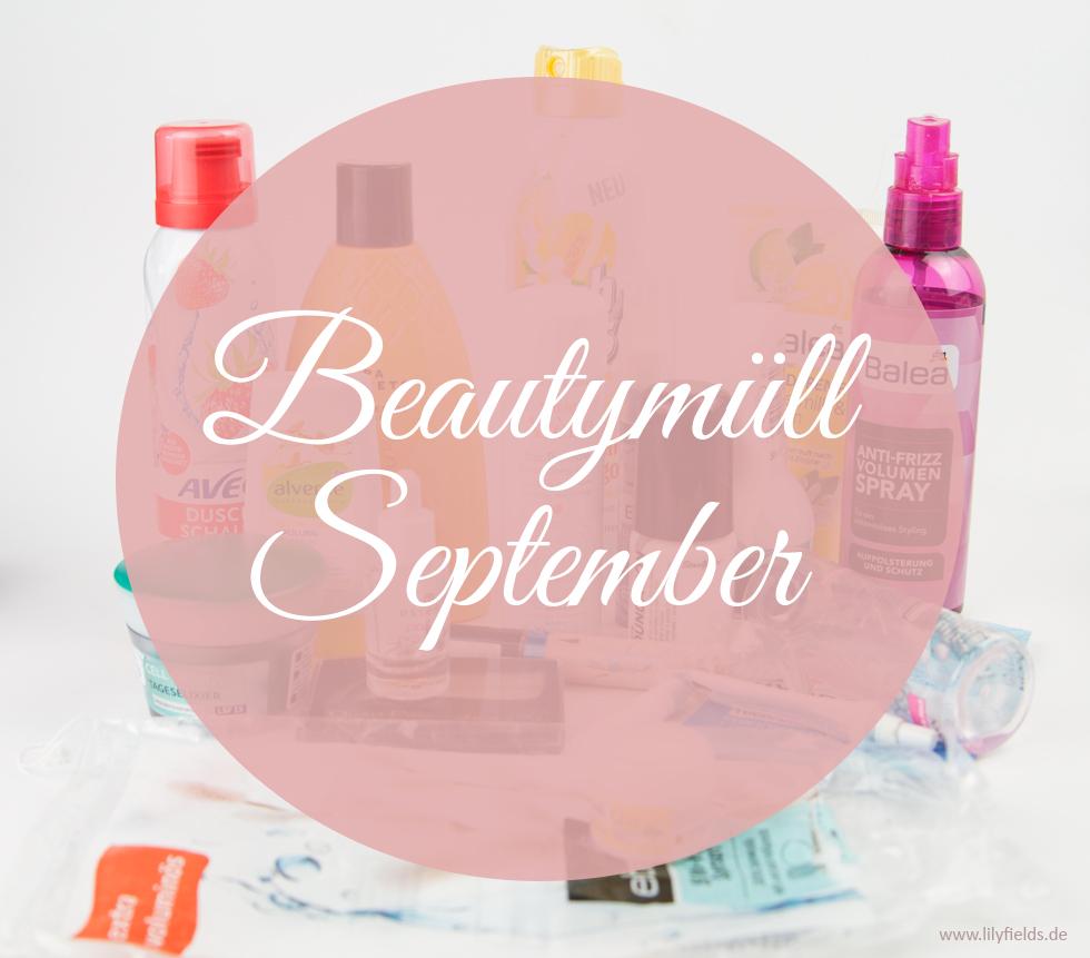 Goodbye September - Beautymüll (aufgebraucht)