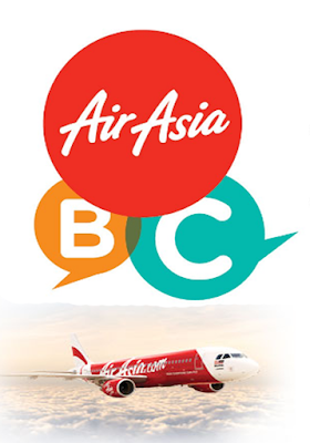 Yeay! Huda dah jadi Air Asia Blogger Community.