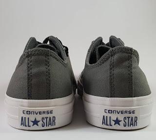 Sepatu Converse Chuck Taylor II Premium low Grey , jual  converse ct 2, harga converse ct 2 premium, converse terbaru, converse lunarlon, converse basket