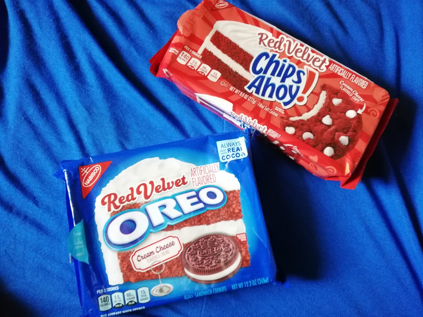 cienanigans what i say nabisco oreo and chips ahoy in red velvet