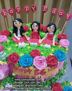 Kue Tart Ulang Tahun Untuk Ibu