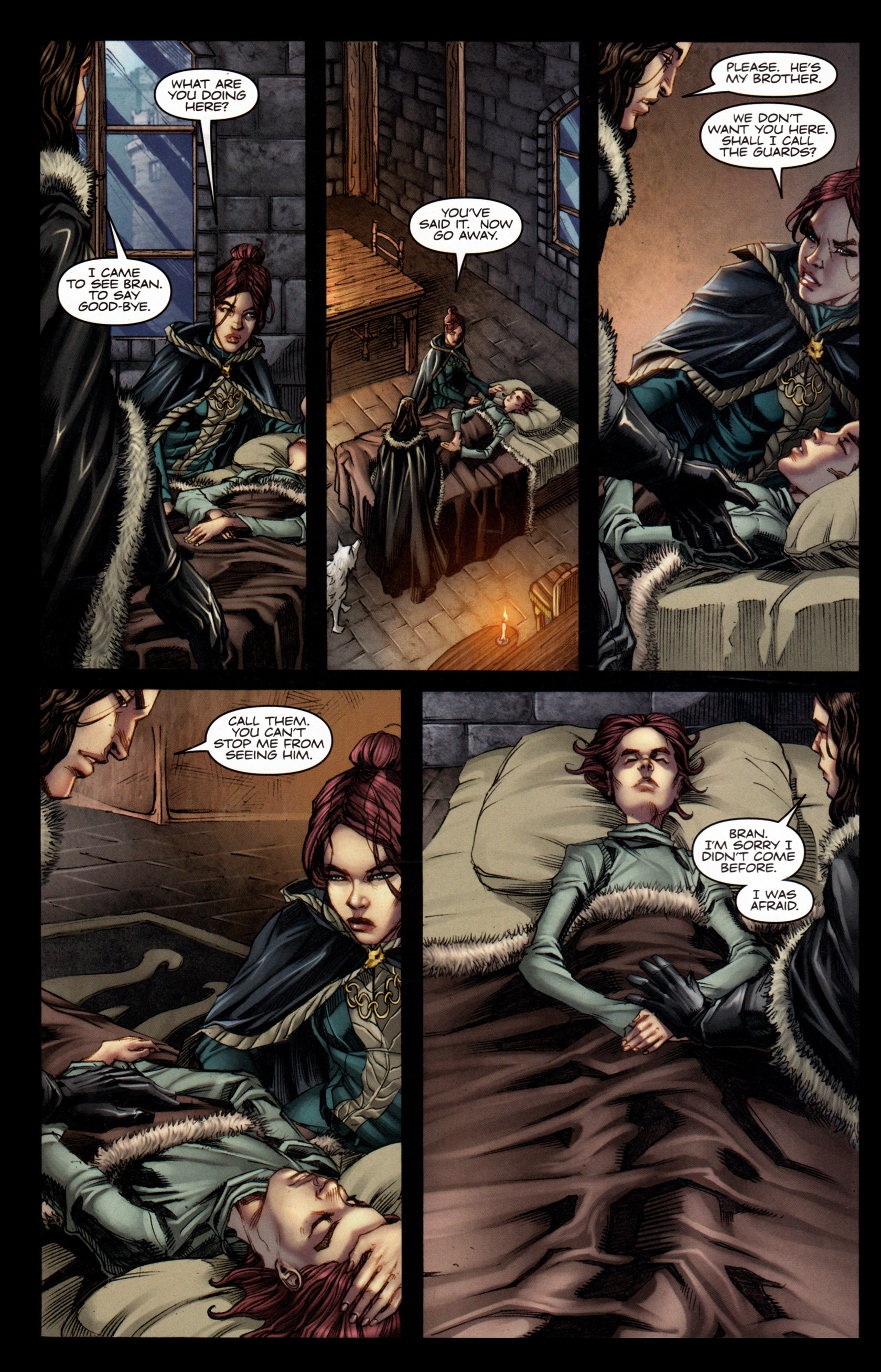 Read online A Game Of Thrones comic -  Issue #4 - 4