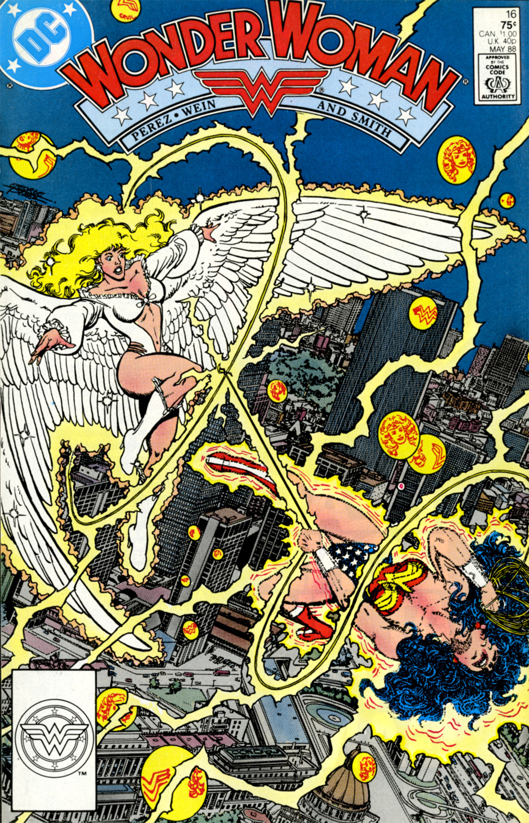 Read online Wonder Woman (1987) comic -  Issue #16 - 1