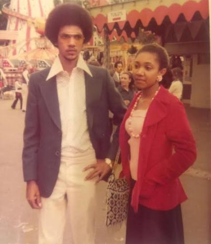 Ben Murray-Bruce Shared Throwback Photo Of He and his Sister In London When He Was 18