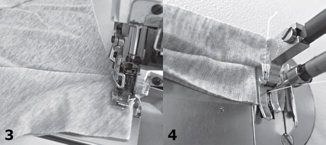 Обработка горловины и проймы в трикотаже