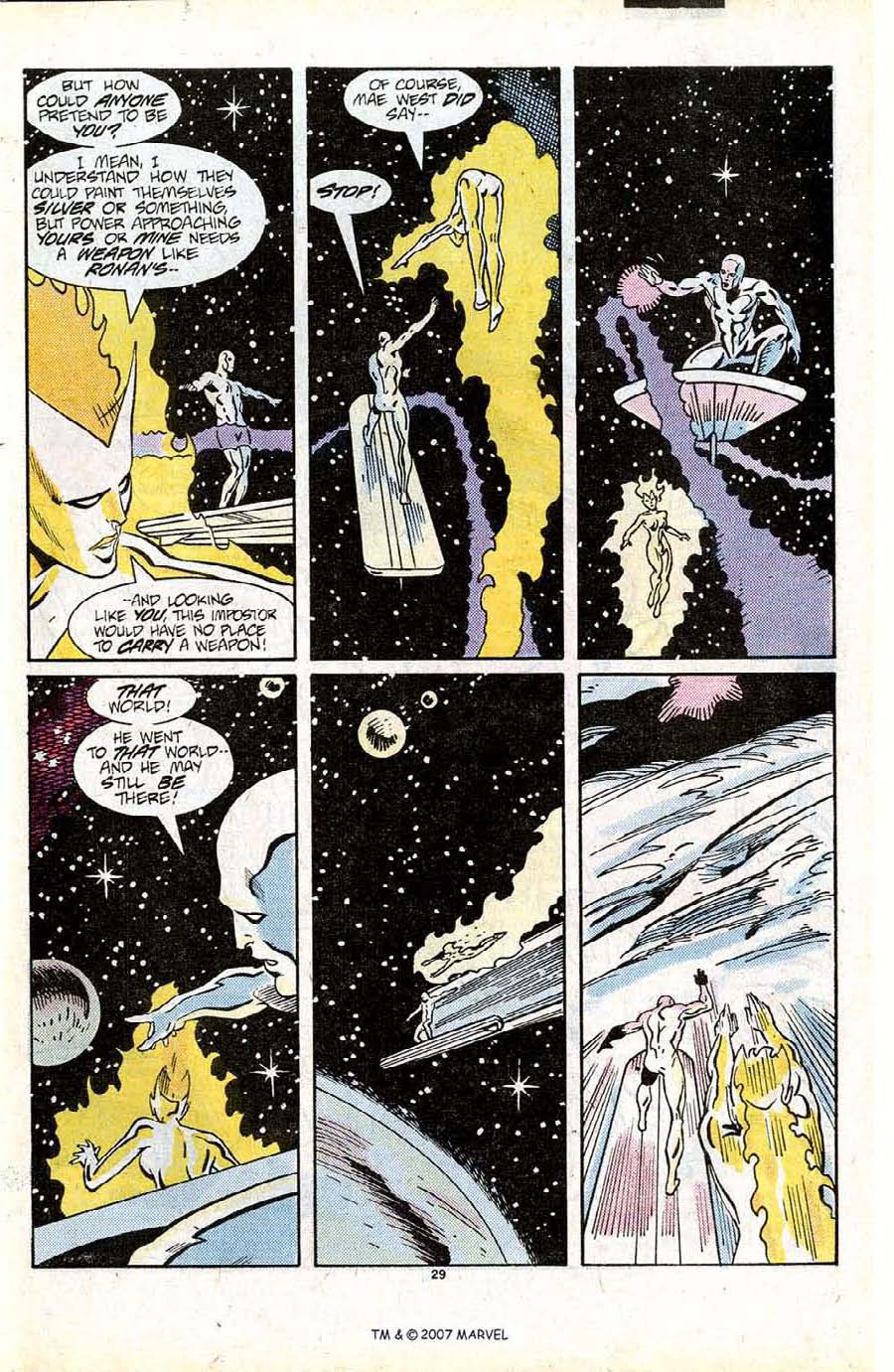 Read online Silver Surfer (1987) comic -  Issue #13 - 31