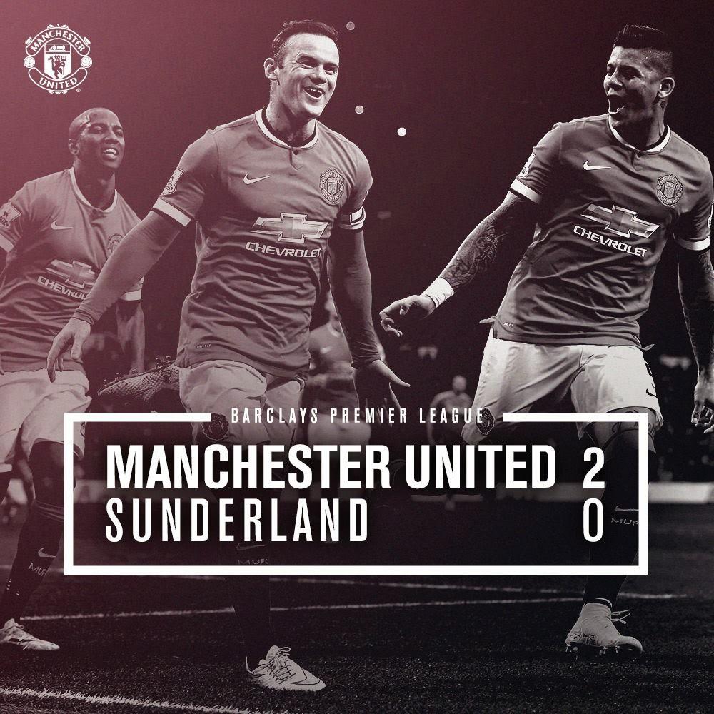 Manchester United 2 0 Sunderland Recent