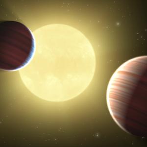 Ambos planetas viajan en un delicado equilibrio