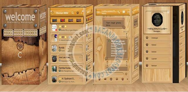download BBM2 Mod Clone Tema Wood Terbaru Versi 2.13.1.14