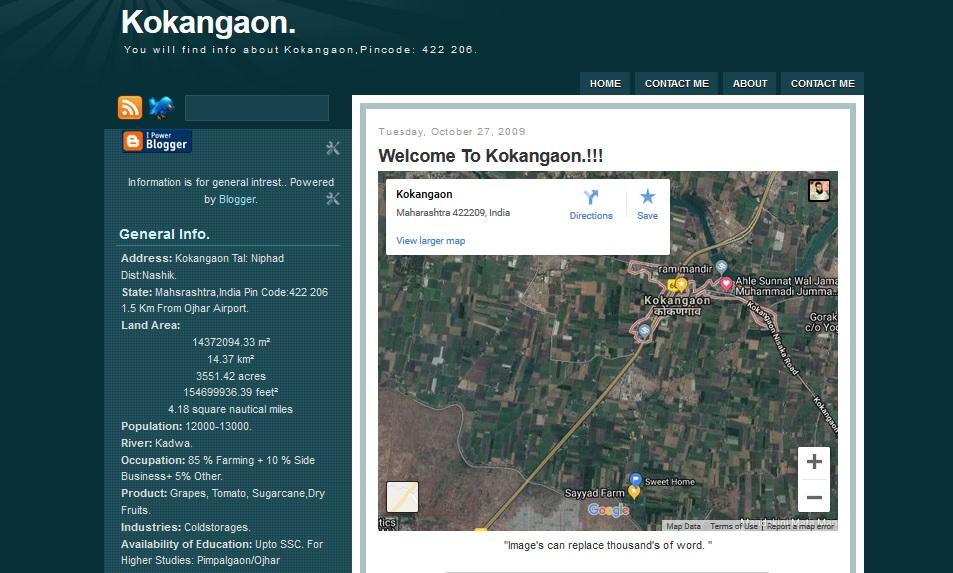 A Blog Dedicated To My Town- Kokangaon
