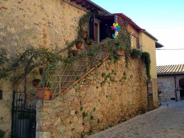 arquitectura en Monteriggioni