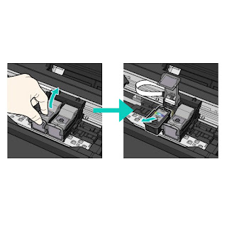 Change printer cartridges Canon MX