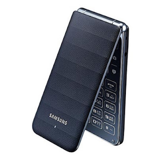 Samsung Flip Galaxy Folder tampil elegan