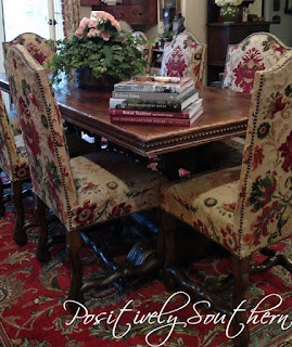 A french country dining table.