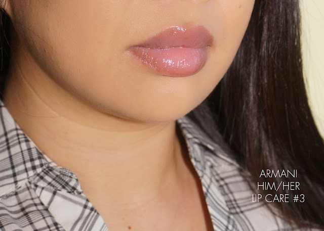 Armani Him/Her Lip Care - The Beauty Look Book