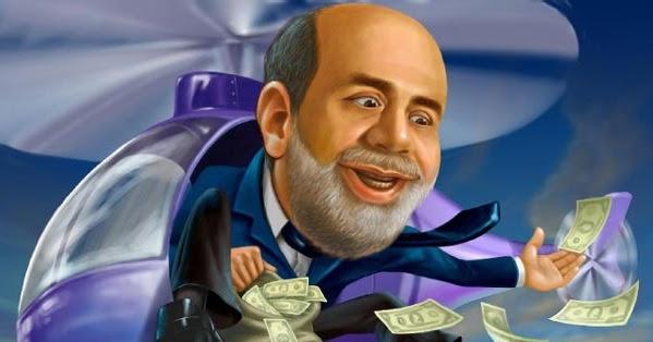 Tras su actuación durante la crisis financiera de 2008, Ben Bernanke terminó siendo conocido como Helicóptero Ben