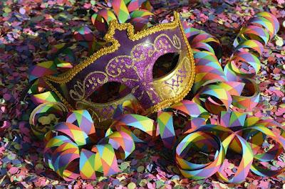 Maske, Fasching, Karneval, bunt