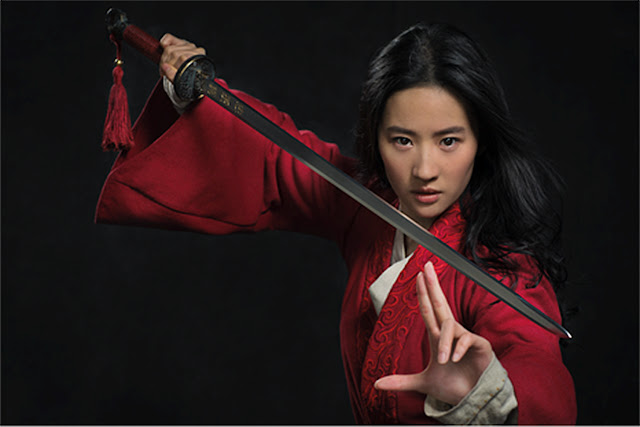 Atriz Li Yifei que interpretará Mulan
