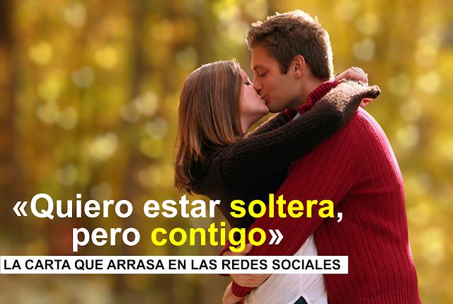 """""""Quiero estar soltera pero contigo"""" la carta que arrasa en Twitter"""