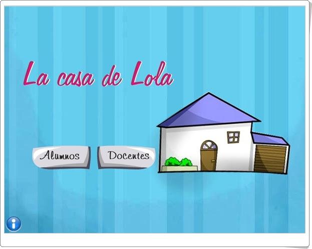 """""""La casa de Lola"""" (Aplicación interactiva de Medio Social)"""