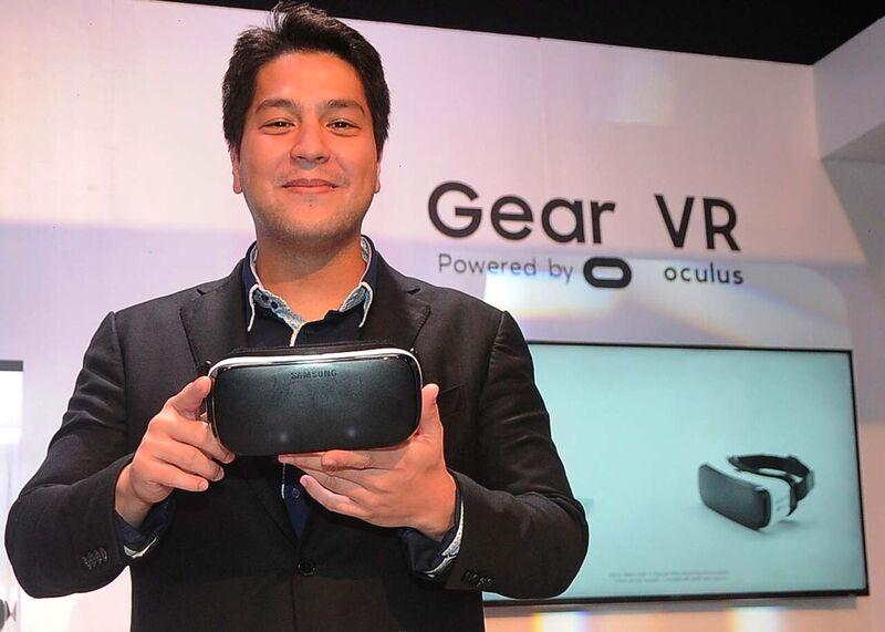 Samsung ambassador, Gino Quillomar Gear VR