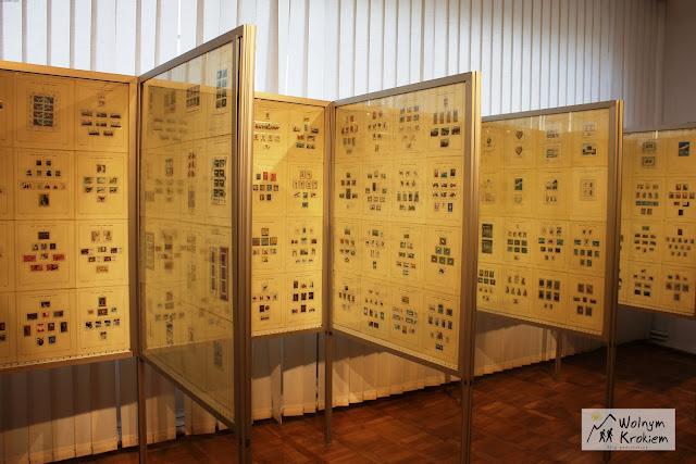Wystawa znaczków Poczty Polskiej
