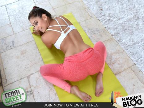 The Real Workout – Nina North: Nervous Newbie Gets A Session