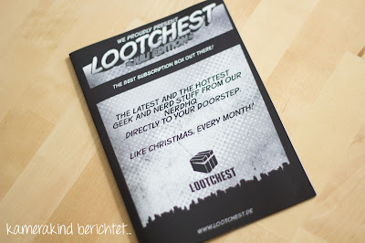 Lootchest Juli 2015 Unboxing