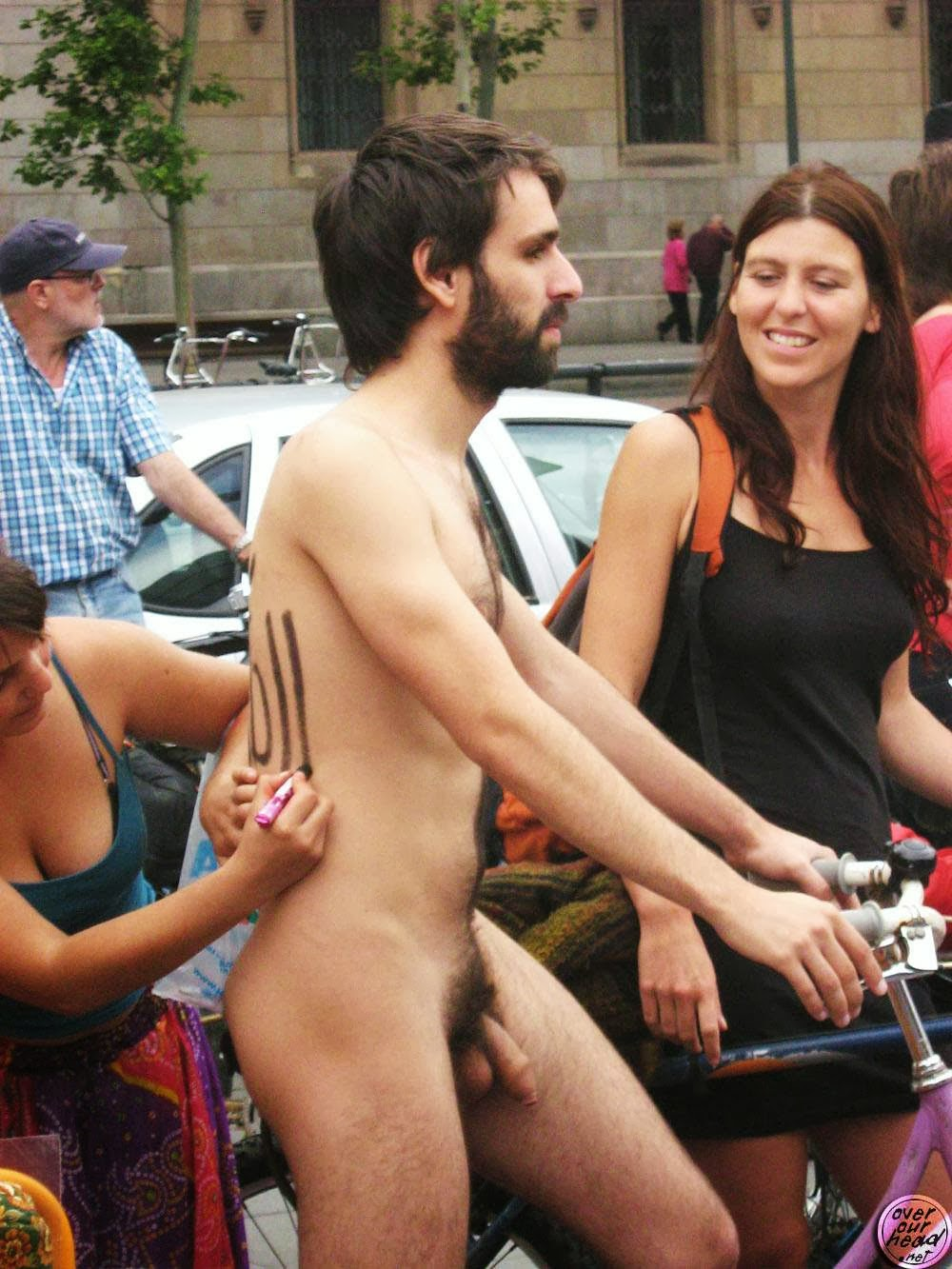 Girls having naked sex with boys in public 15