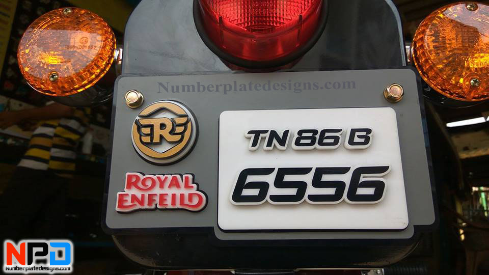 bike number plate designs in bangalore dating