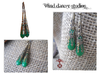 MagPie Approved: Wind Dancer Studios Green Dangles, Amazon Handmade