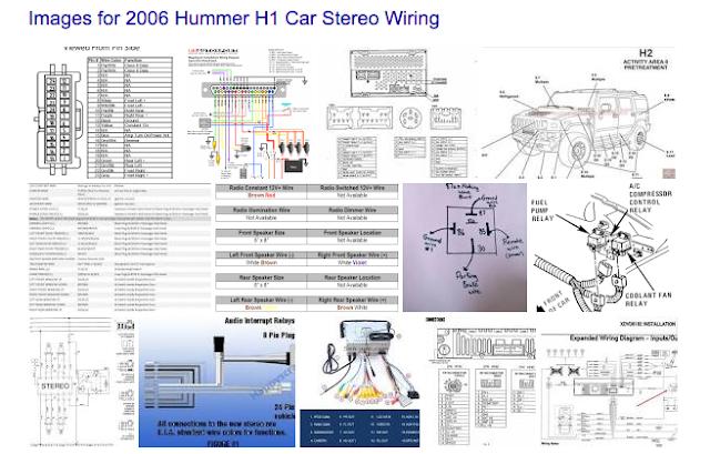 Car Wiring Diagrams  2006 Hummer H2 Sut Stereo Wiring Diagrams