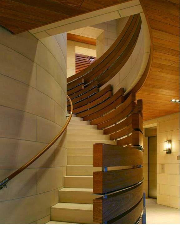 Modern Duplex Staircase Designs - Decor Units