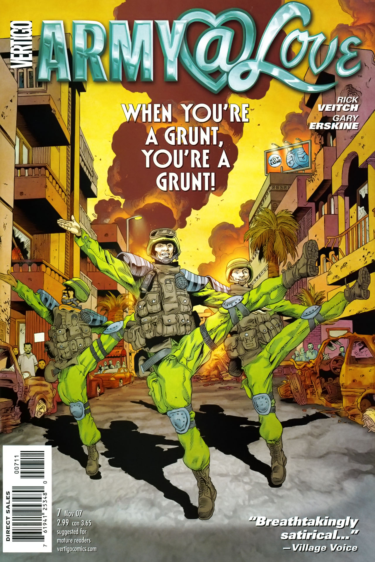 Read online Army @ Love comic -  Issue #7 - 1