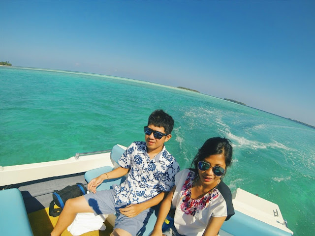 exclusive speedboat transfer to holiday inn maldives