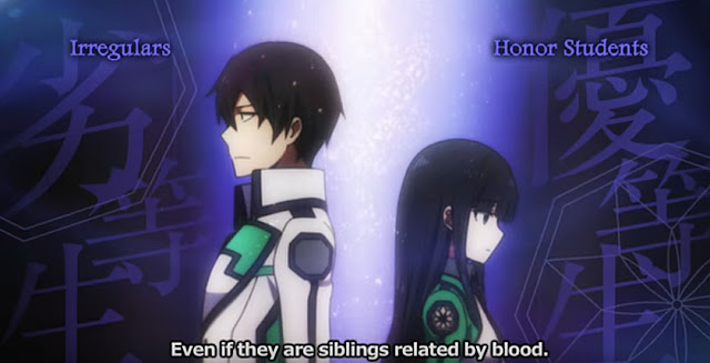 Sinopsis Film Anime The Irregular At Magic High School (2017)