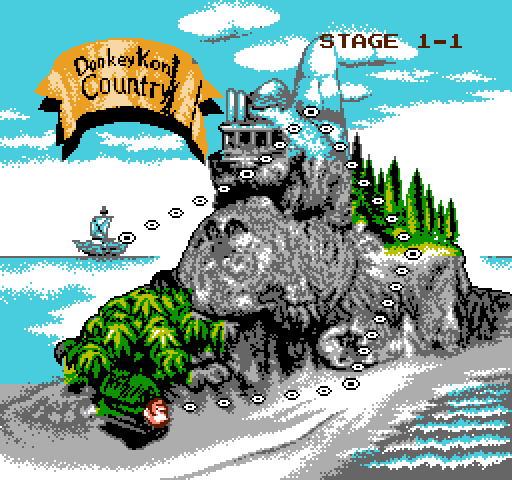 Donkey Kong Country World Map Quiz - By DLspartan93