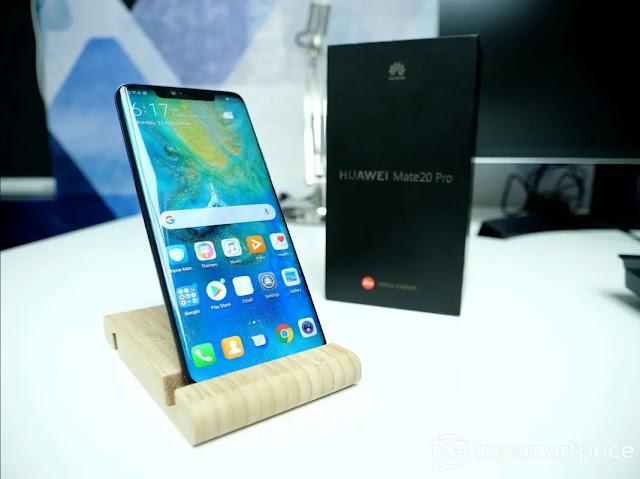 Huawei Mate 20 Pro Ulasan Terbaru