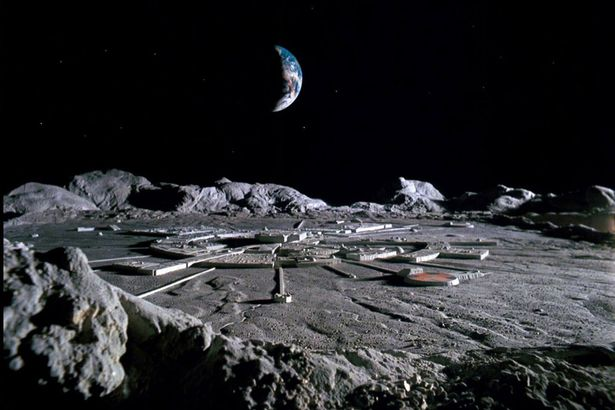 Mined resources could be used to build habitats on the moon