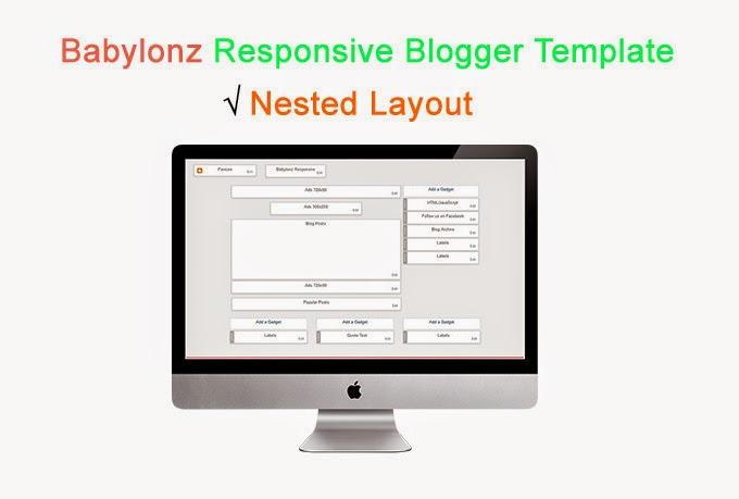 Babylonz Resposnive Blogger Template Preview 2