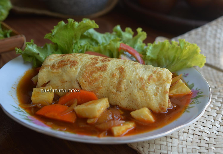 Resep Cake Pisang Diah Didi: Diah Didi's Kitchen: Risol Kuah Bestik
