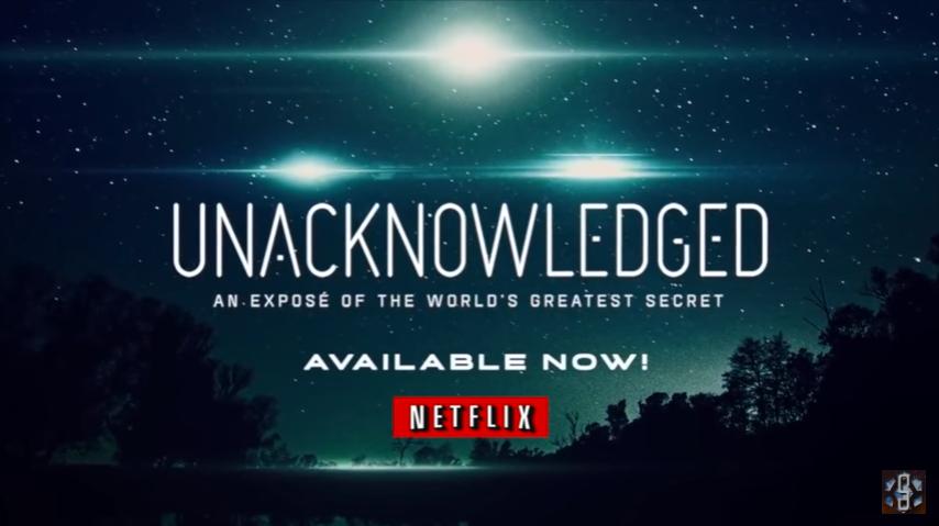 """""""Unacknowledged"""" film on ..."""