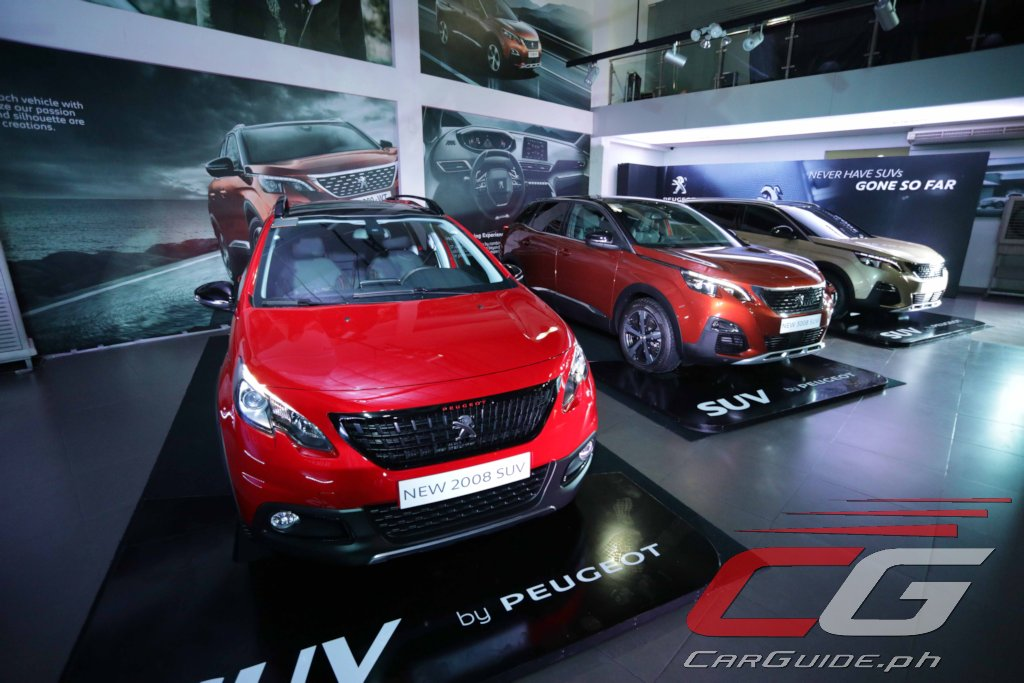 Peugeot Philippines Launches All-SUV Offensive, Introduces 3 New ...