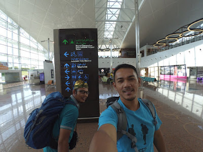Touch Down Brunei Intl Airport