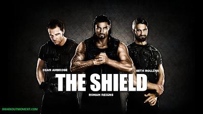 Dean Ambrose Roman Reigns Seth Rollins