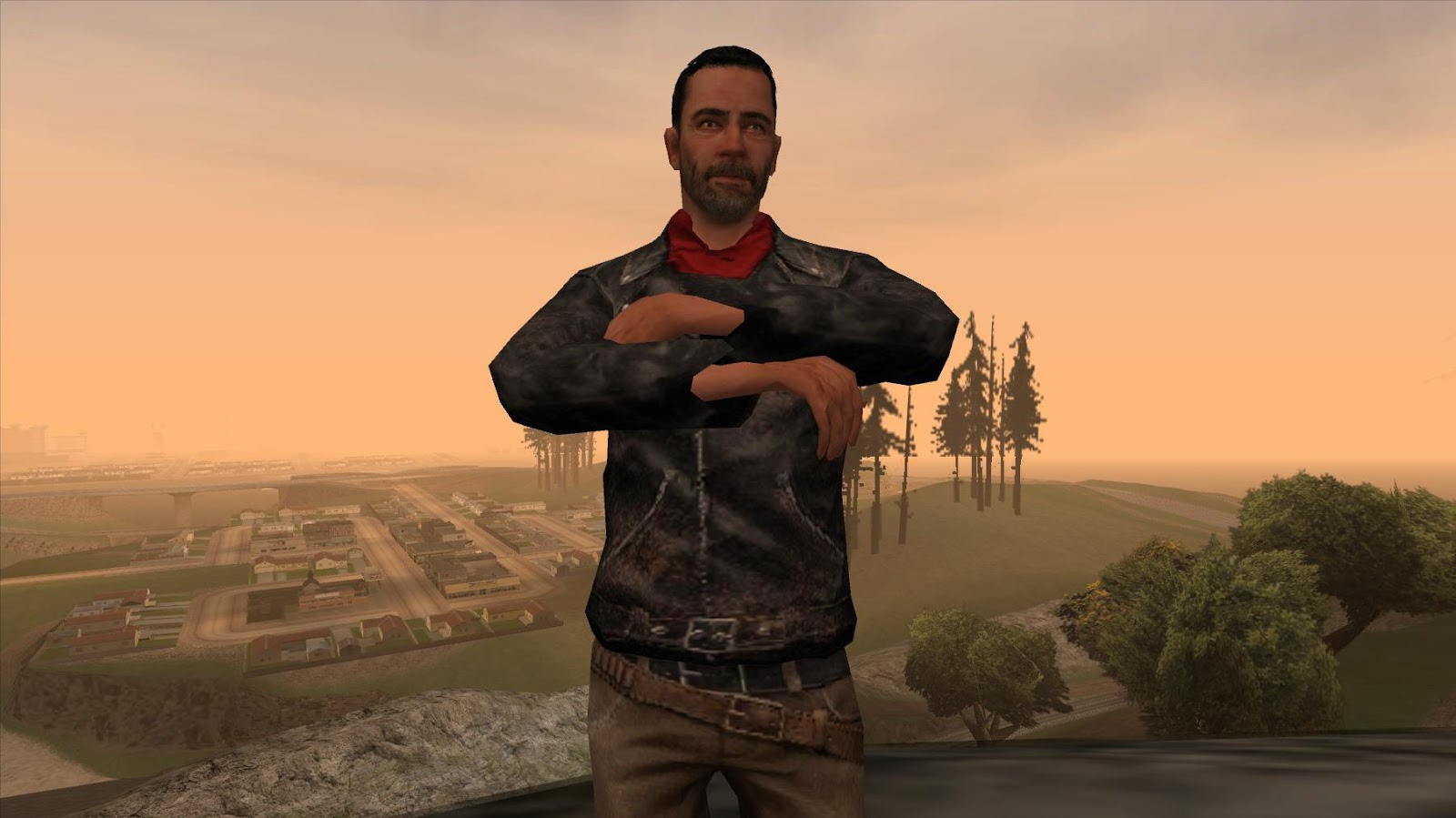 Solidcal Modding: [REL-GTA SA] The Walking Dead No Man's Land Negan