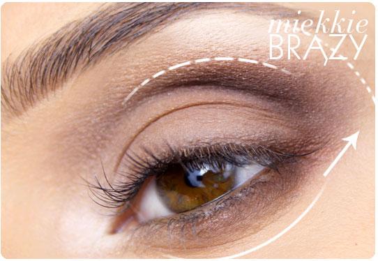 Alina Rose Blog Kosmetyczny Miękkie Brązy Czyli Makijaż Dla