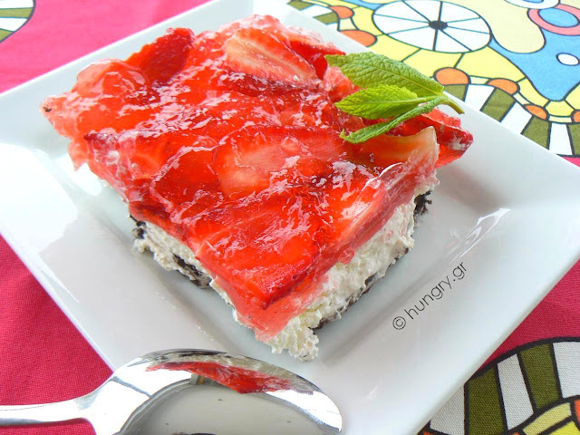 Γλυκό με OREO και Φράουλες
