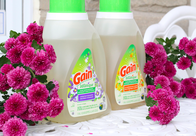 Gain Botanique #StopandSmelltheHappiness